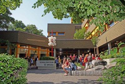 Eingang des Ursulinengymnasiums Werl